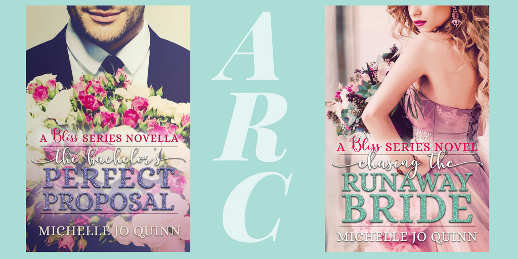 Michelle Jo Quinn's Bliss Series Double Cover Reveal | Leigh W
